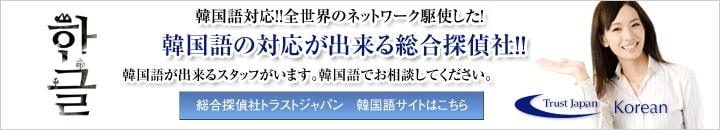 韓国語に対応できる日本の民間調査会社