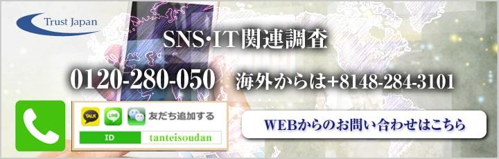 SNS・IT関連調査